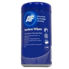 Tisztítókendő, izopropil alkohollal, 100 db, AF