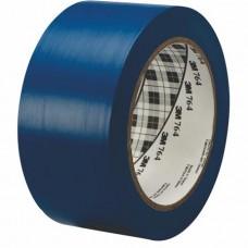 Ipari jelzőszalag, 50mm x 33m, 3M, kék