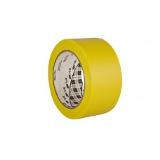 Ipari jelzőszalag, 50 mm x 33 m, 3M, sárga