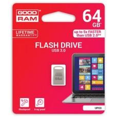 Pendrive, 64GB, USB 3.0, 150/20 MB/sec, fém ház, GOODRAM