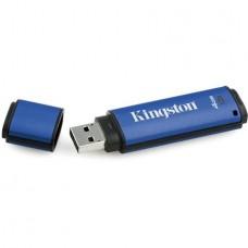 Pendrive, 4GB, USB 3.0, 80/12MB/s, titkosítással, KINGSTON