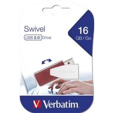 Pendrive, 16GB, USB 2.0, 8/2MB/sec, VERBATIM