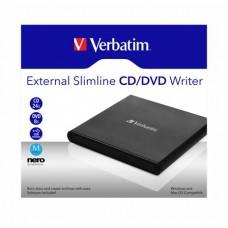 CD/DVD író, USB 2.0, külső, VERBATIM