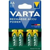 Tölthető elem, AA ceruza, 4x2100 mAh, előtöltött, VARTA