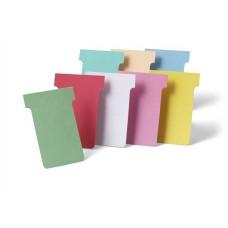 T-kártya tervezőtáblához, 2-es méret, NOBO, zöld
