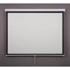 Vetítővászon, fali, rolós, 1:1, 180x180cm, VICTORIA
